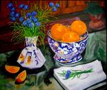 Oranges and Cornflowers