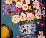 Ginger Jar and Flowers