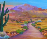 Path to McDowell Mountain