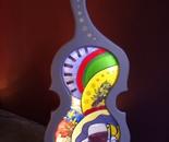 """""""Le violon bordelais""""157 cm X 80 cm"""