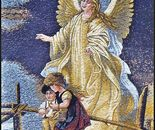 Angel with childs