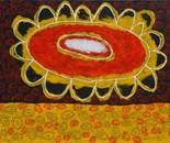 boy alkaf+''stocking flower flower''+acrylic on canvas+110x90 cm+2013
