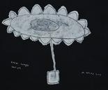 boy alkaf+''large flower pot''+acrylic on canvas+110x90 cm+2013
