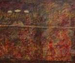 boy alkaf, think+feel, 130 x 90 cm, mixed on canvas, 2012