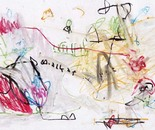 boy alkaf, untitle #5 part I, water colour on paper, F4, 2013