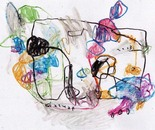 boy alkaf, untitle #2 part I, water colour on paper, F4, 2013