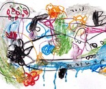 boy alkaf, untitle #3 part I, water colour on paper, F4, 2013