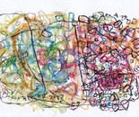 boy alkaf, untitle #2 part II, acrylic and water colour on paper, A4, 2013