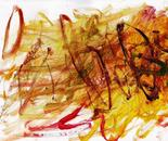untitle #2 part XIII, acrylic on paper, F4, 2013