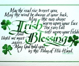 Irish Blessing Horizontal