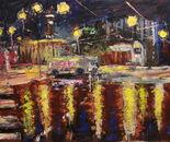 McDonald's number 6. Rusakovskaya street. Fire station ? 12. Oil on canvas 120?92cm(47x36 inch) 2012.