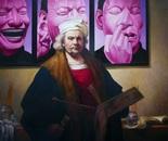 3 ETUDES POUR UN PORTRAIT Oil on canvas 120 cm x 120 cm