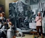 MAESTRO oil on canvas  200 cm x 200 cm