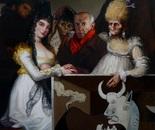 ESPAGNOLADE oil on canvas 146 cm x 97 cm