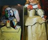 INFANTE MARIA MARGARITA oil on canvas 116 cm x 81 cm