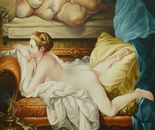 CALLIPYGE oil on canvas 146 cm x 114 cm