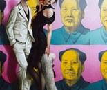 Mr & Mrs YUAN oil on canvas 130 cm x 81 cm