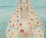 Santa Rita...oil on canvas 120cm90cm