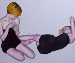 """""""Romina 27"""" 100x140 oil on canvas 2014"""