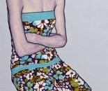"""""""Romina 14"""" 100x60 oil on canvas 2013"""