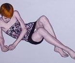 """""""Romina 28"""" 70x100 oil on canvas 2014"""