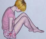 """""""Romina 15""""  70x80 oil on canvas 2013"""