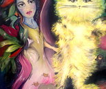Jasmine and Aurora cat
