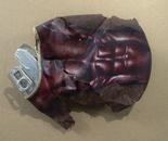 "dixon / ""Sully Build"" / 13x11.5cm / acrylic on metal / 2013"