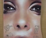 "dixon / ""Visage"" / 48x61cm / spray paint and acrylic on cardboard / 2013"