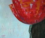 «Solo» Acrylic on canvas. 70\60. 2014.