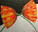 «Duet» Acrylic on canvas. 70\60. 2014.