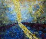 «Reflection»  Acrylic on a canvas. 60?65. 2012.