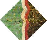 «Merge»  Acrylic on canvas. 60\60. 2012
