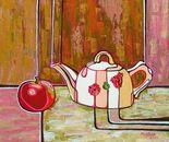 «Marionteki» Acrylic on canvas. 50\45. 2011.