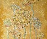 «Sand flowers» Acrylic on canvas. 60\40. 2013.