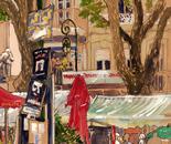 Avignon theatre festival square