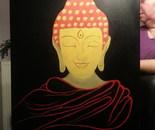 Buddha on black