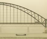 Irrawaddy Road Bridge at Dawn