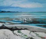 The Seabird Coastline from the beach at Miranda
