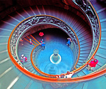 Exit Staircase Vatican