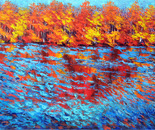 Sapphire Reflection, Ottawa River