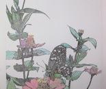 Flores en Tinta III