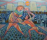 Struggles of Gilgamesh and Enkidou