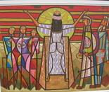 The mother of Gilgamesh praying to her husband Iz-ten