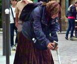 Paris beggar