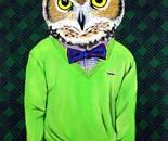 Intellectu-owl (hipster owl)