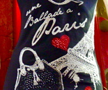 Paris souvenir swimsuit made in China