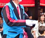 clown in Montmartre, Paris