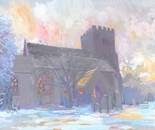 St. Andrews Church, Sonning. Winter