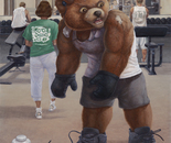 Bodybuilder Teddy
